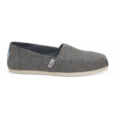 Black Multi Speckle Chambray Alpargata Women