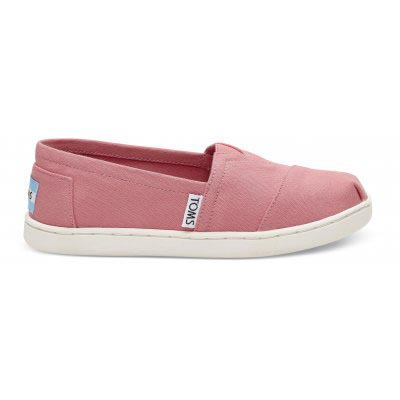 Bubblegum Pink Canvas Alpargata Youth