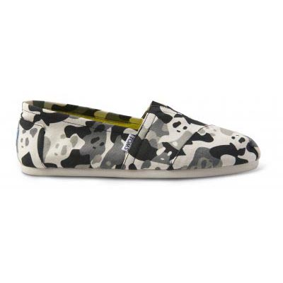 Panda Camo Black Multi Alpargata Women