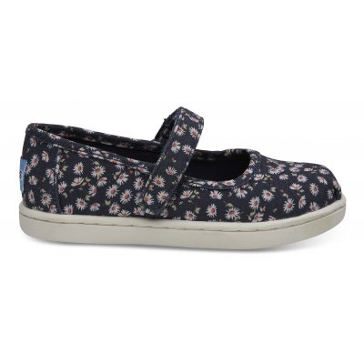 Navy Ditzy Daisy Mary Jane T