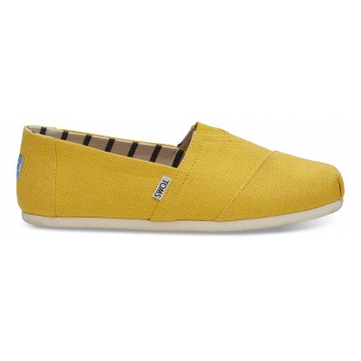 Lemon Chrome Heritage Canvas Alpargata M