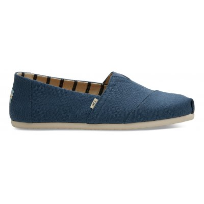Airforce Blue Heritage Canvas Alpargata M