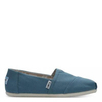Peacock Canvas Alpargatas Women