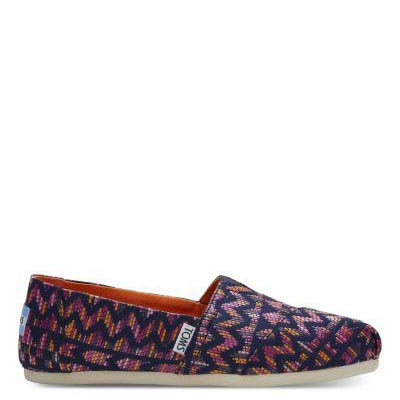 Fuchsia Color Tribal Alpargatas Women