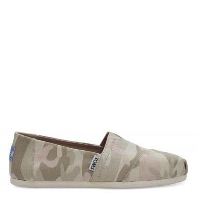 Birch Camo Alpargatas Women