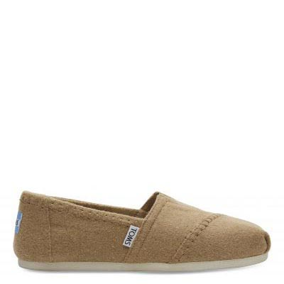 Toffee Wool Alpargatas Women