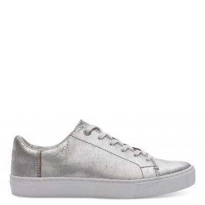 Silver Met Leather Lenox Women