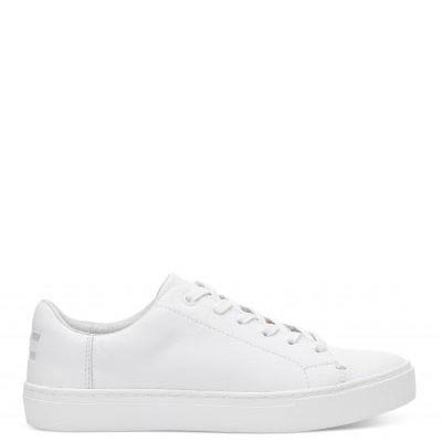 White Leather Lenox Women