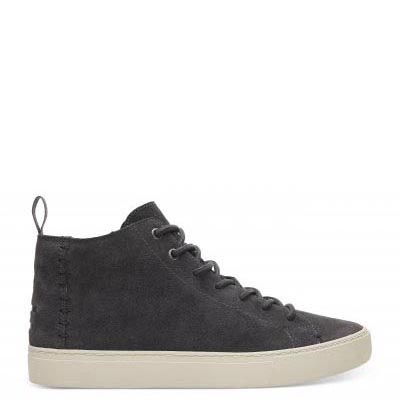 Forged Grey Suede Lenox Mid Men
