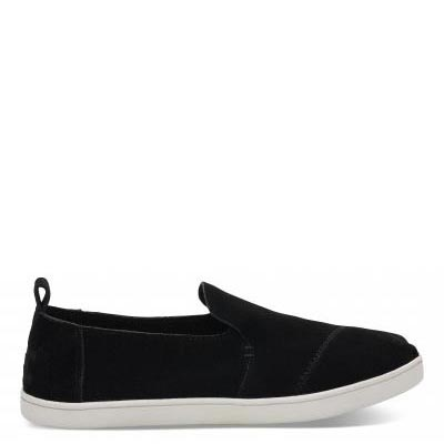 Black Suede Cupsole Deconstructed Alpargatas Women