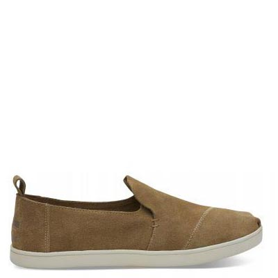 Toffee Suede Cupsole Deconstructed Alpargatas Women
