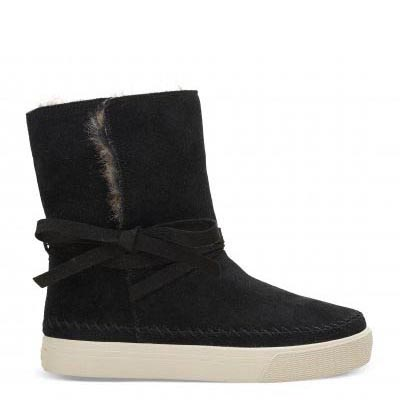 Black Suede Vista Women