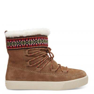Toffee Suede Alpine Women