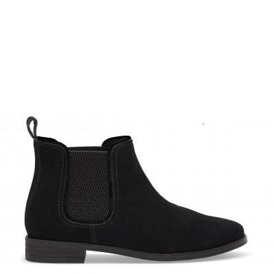 Black Suede Ella Women