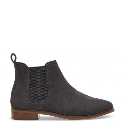 Forged Iron Grey Suede Ella Women