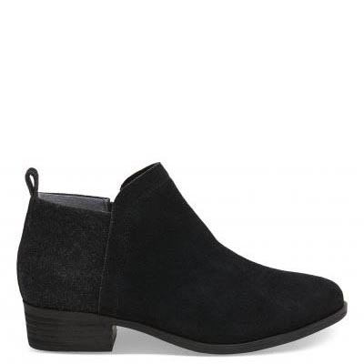 Black Suede Deia Women