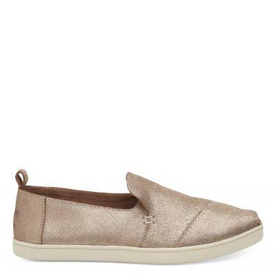 Rose Gold Cupsole Deconstructed Alpargatas Women