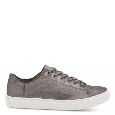 Pewter Leather Lenox Women