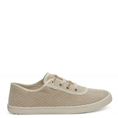 Oxford Tan Corduroy Carmel W