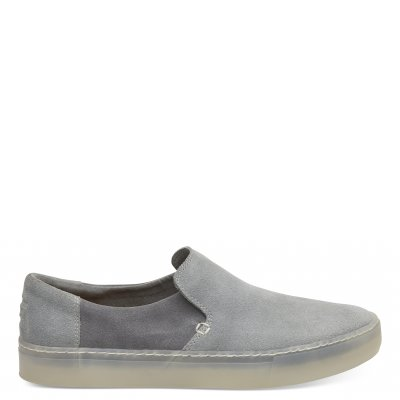 NEUTRAL GREY SUEDE LOMAS M