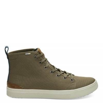 MIL OLIVE CANVAS TRVL LITE HIGH M