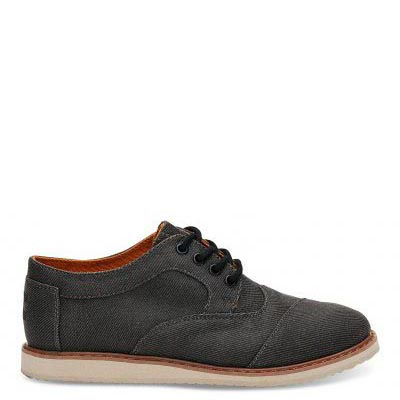 Blue Chambray Brogue Youth
