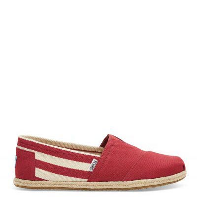University Red Stripes Male Classic