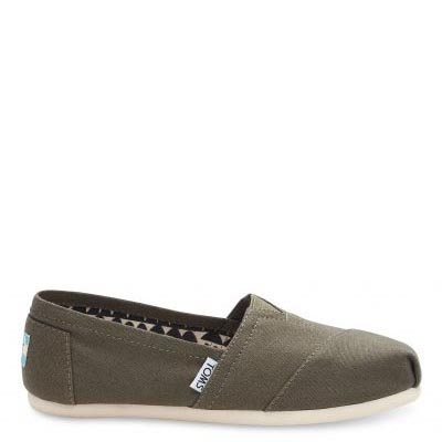 Tarmac Olive Canvas Alpargata Women