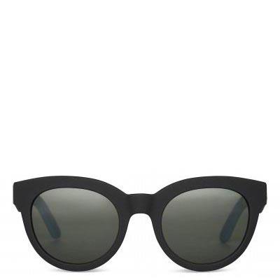 Traveler by TOMS Florentin Matte Black Sunglasses
