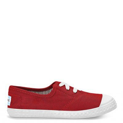 Red Canvas Zuma Sneaker Youth