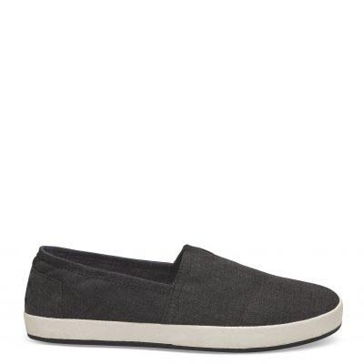 Black Chambray Avalon Slip On Male