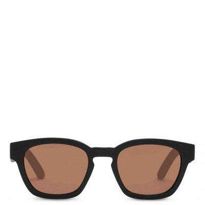 Traveler by TOMS Bowery Matte Black Sunglasses