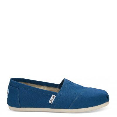 Cobalt Canvas Alpargata Women