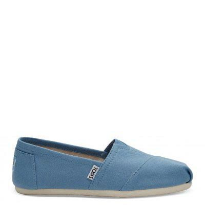 Cornflower Blue Canvas Alpargata Women