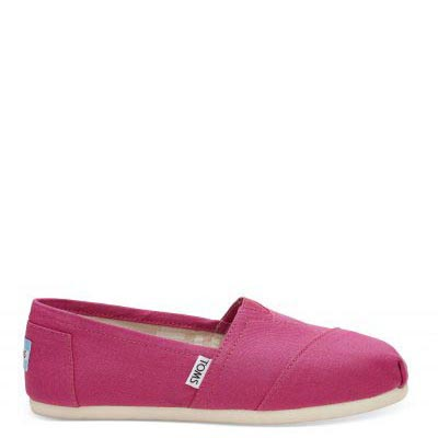 Fuchsia Canvas Alpargata Women