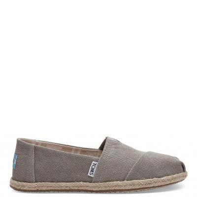 Drizzle Grey Washed Alpargata Women