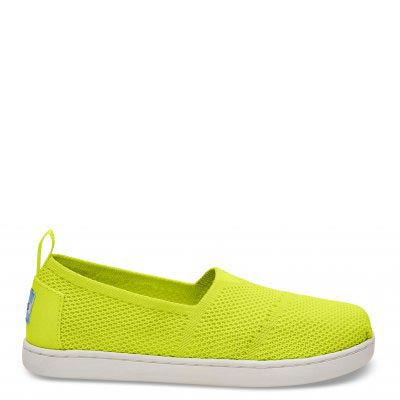 Neon Yellow Mesh Alpargata Youth
