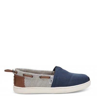 Navy Canvas Stripes Bimini Y