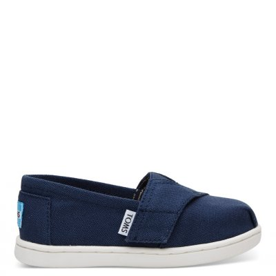 Navy Canvas Alpargata T