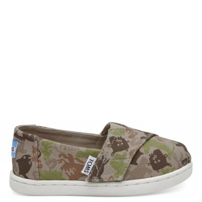 Oxford Tan Creature Camo Alpargata T