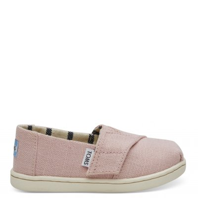 Powder Pink Heritage Canvas Alpargata T