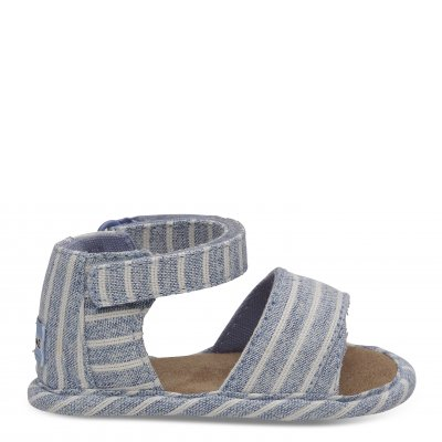 Sky Washed Stripe Crib Shiloh T