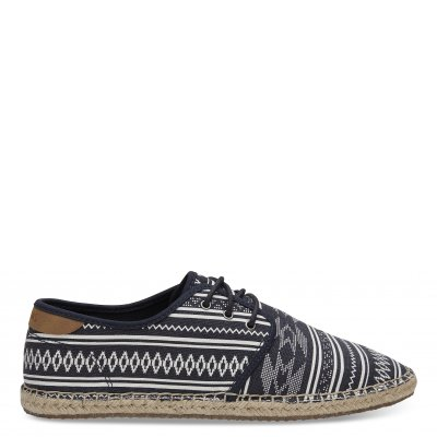Navy Ethnic Tribal Rope Diego M