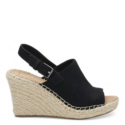 Black Suede Monica W