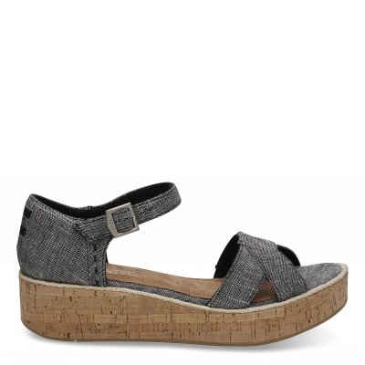 Black Textured Chambray Harper W