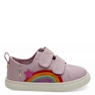 Burn Lilac Rainbow Canvas Lenny T