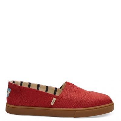 Brick Red Heritage Canvas Cupsole Alpargata W