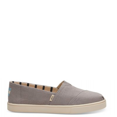 Morning Dove Heritage Canvas Cupsole Alpargata W