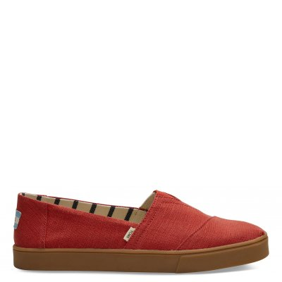Red Brick Heritage Canvas Cupsole Alpargata M
