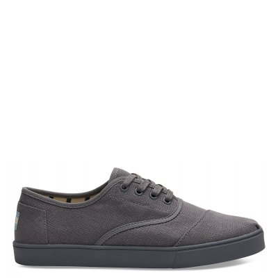 Shade Grey Heritage Canvas Cupsole Cordones M
